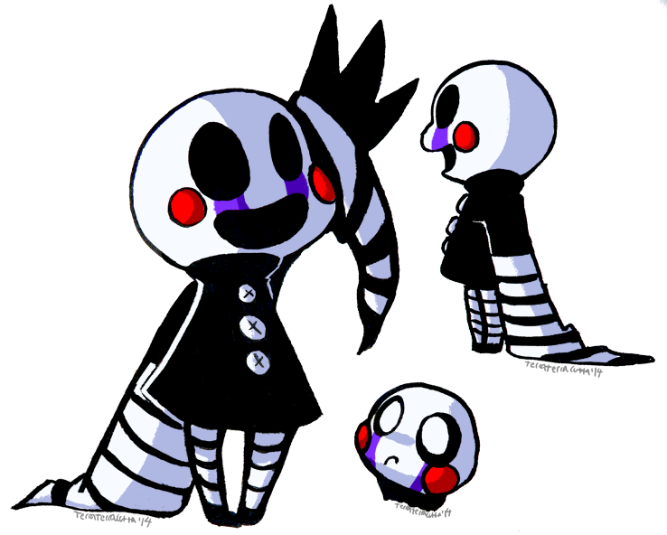 Puppet fnaf drawing at. Hands clipart marionette