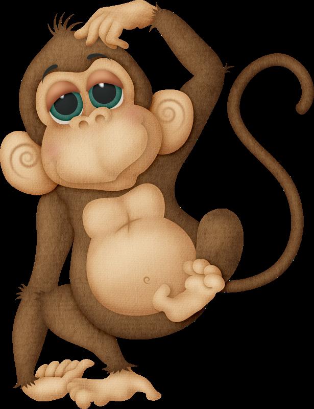 Clipart monkey foot. Zoo tita k picasa