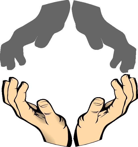 Clip art at clker. Clipart hands monster