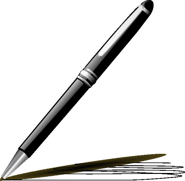 Poem clipart plume pen. Black and white panda