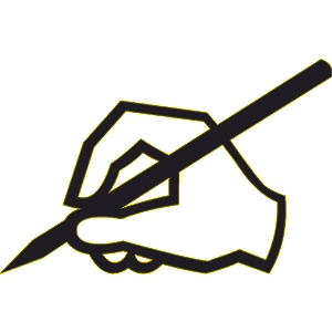 Free writing cliparts download. Writer clipart pen