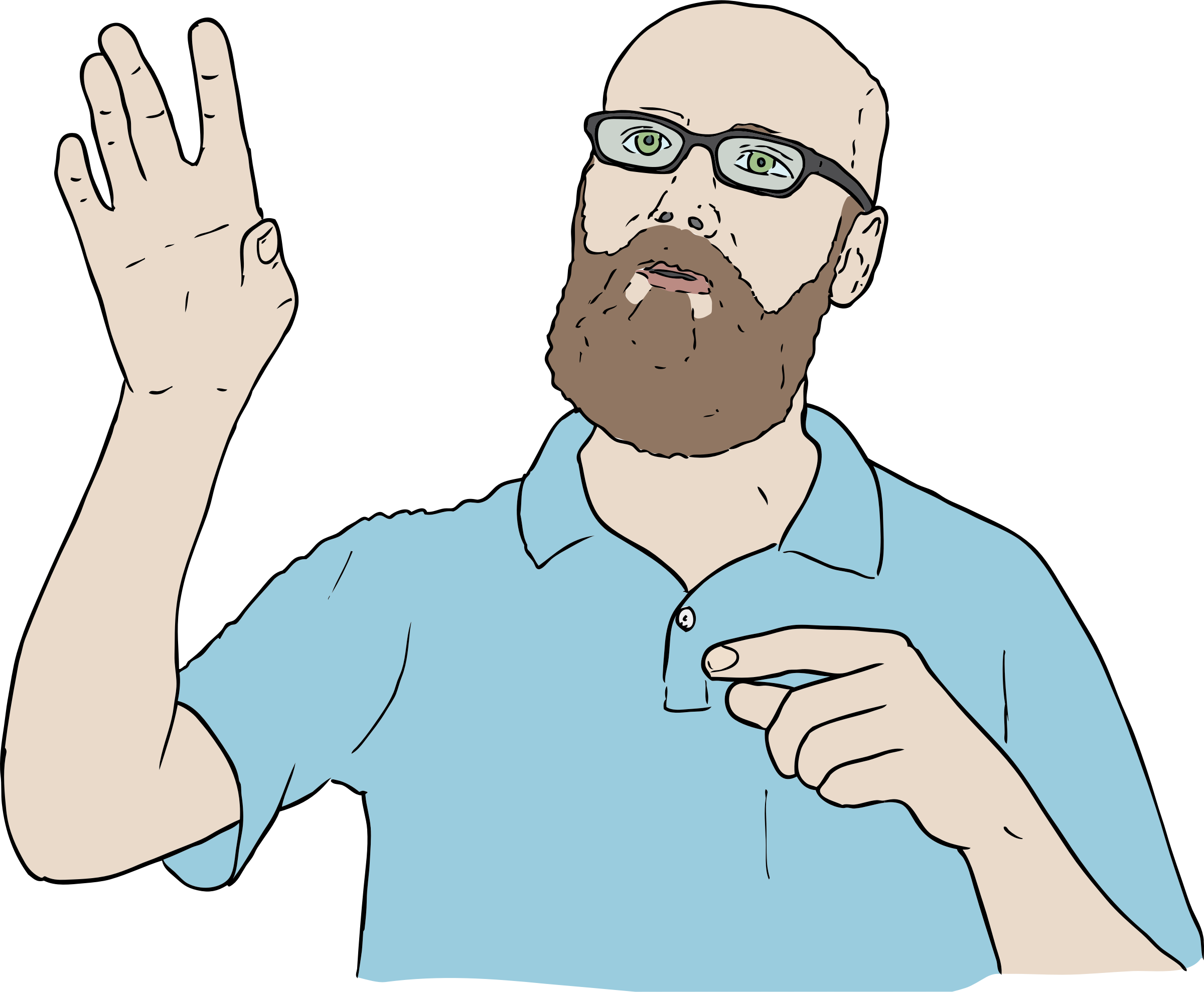 Hands clipart self. Lambert hand up icons