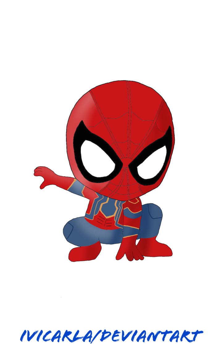 Wet clipart wet man. Spider avengers infinity war