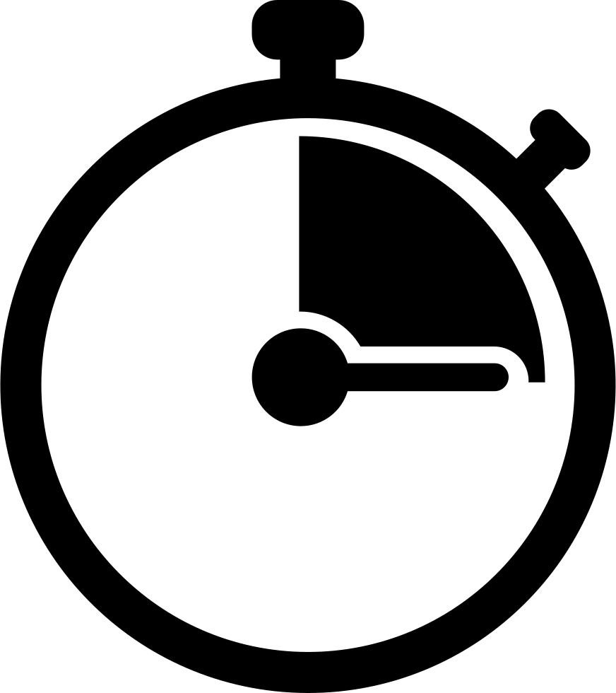 Hands clipart stopwatch. Svg png icon free