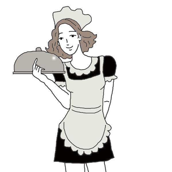 Waiter dream dictionary interpret. Waitress clipart restaurant hostess