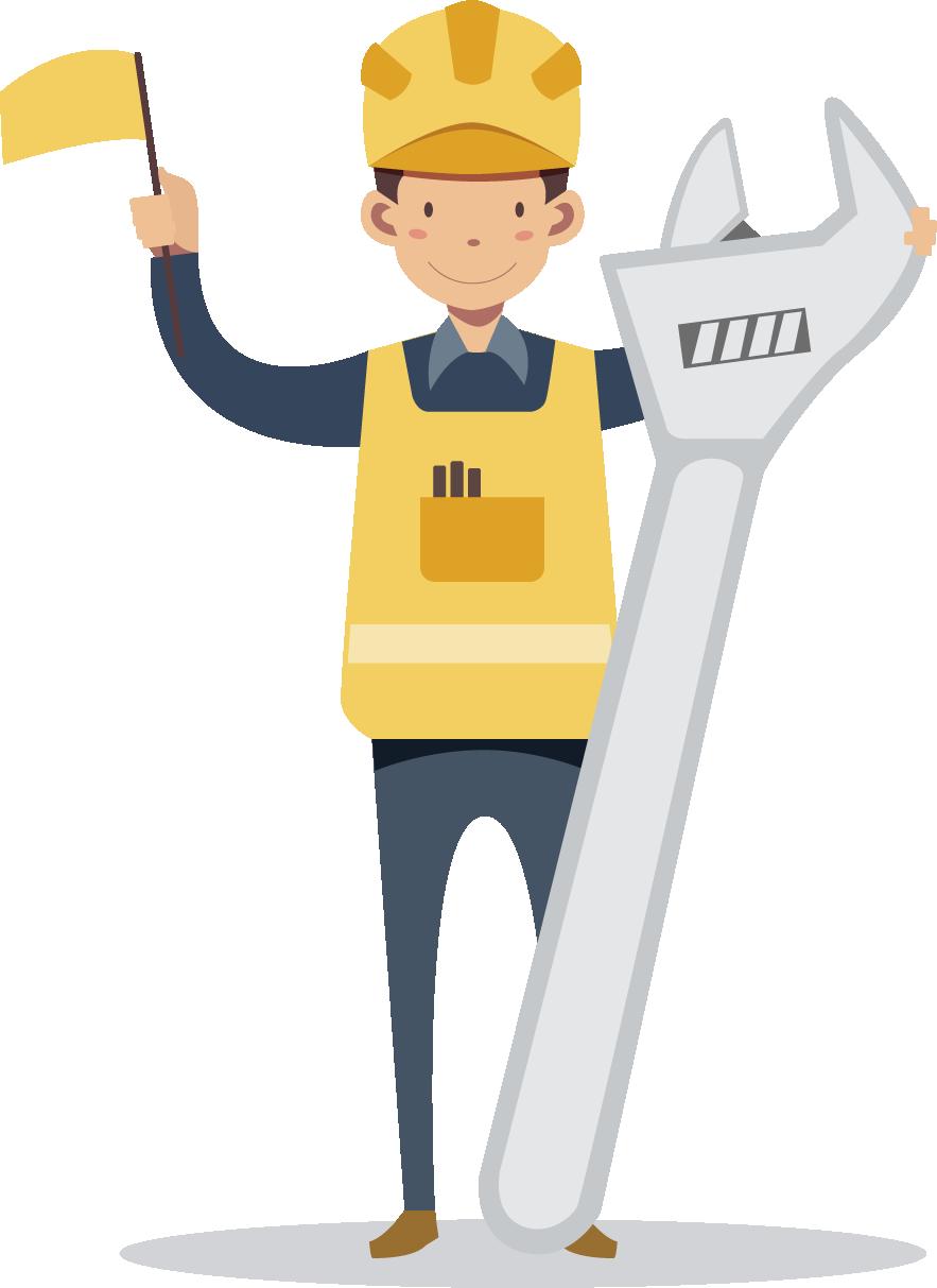 Engineering clipart maintenance engineer. Labor day international workers