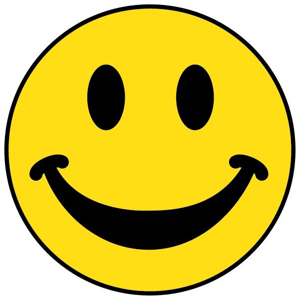 Clipart happy. Super face