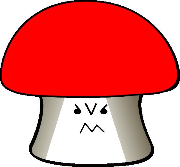 Mushroom angry