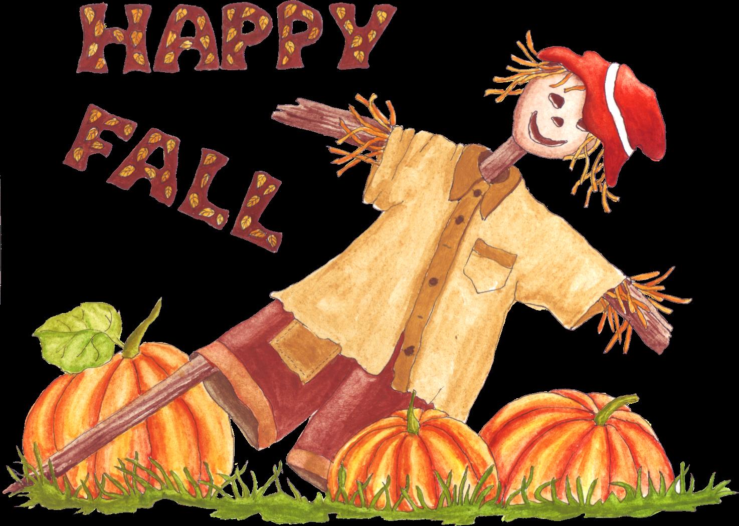 . Clipart happy autumn