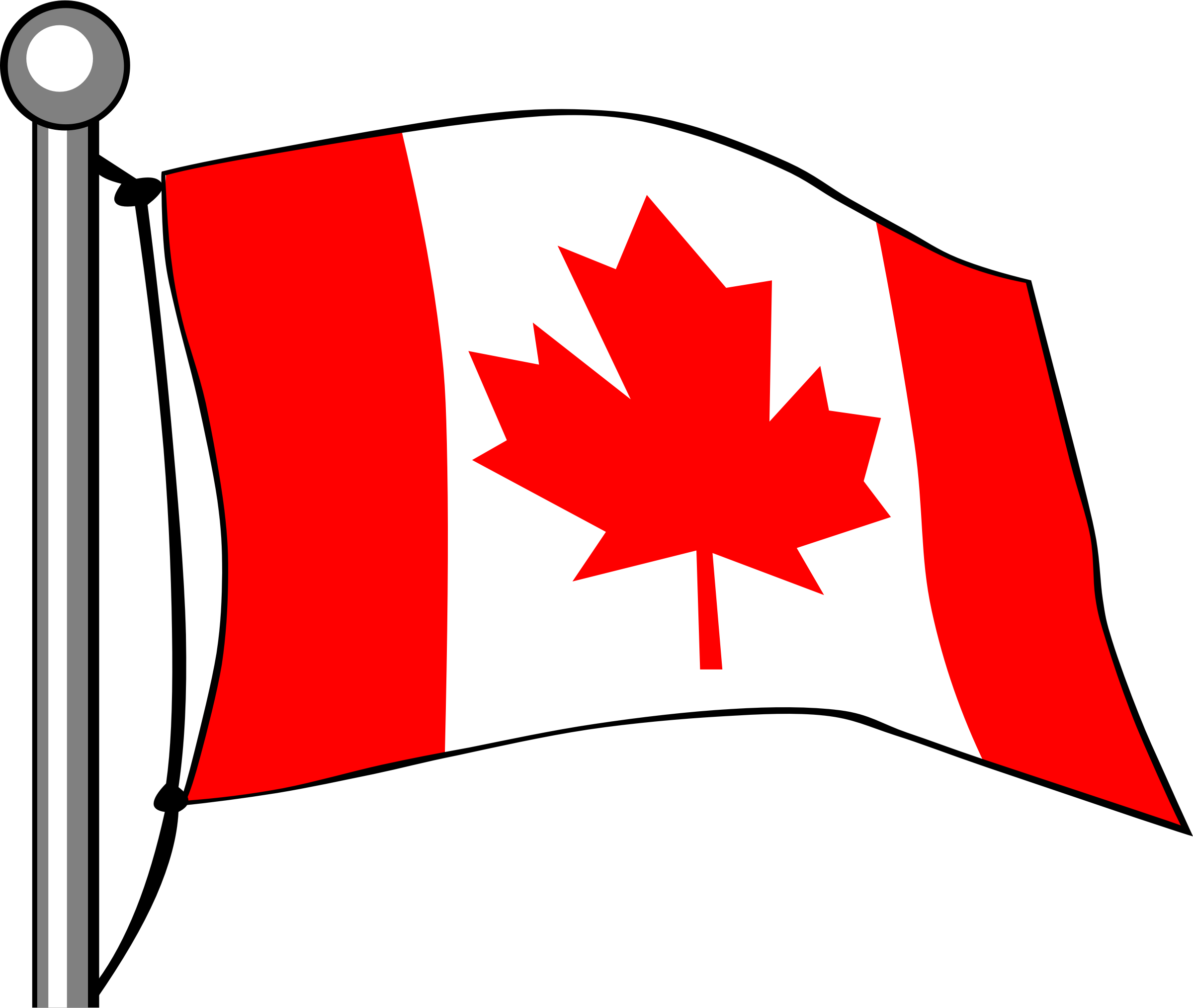 Happy canada day free. Flag clipart vector