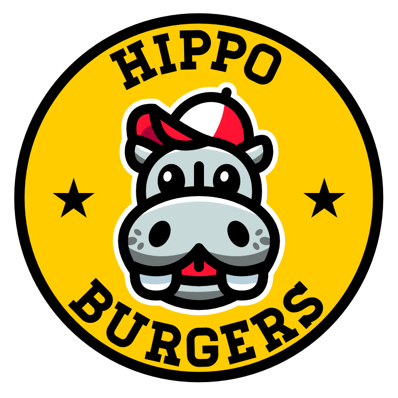 Hippo burgers the best. Meal clipart burger meal