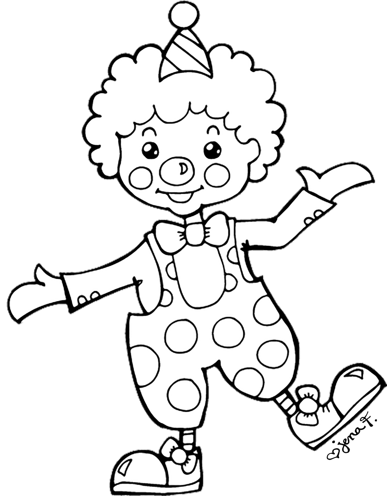 Drawing at getdrawings com. Happy clipart clown