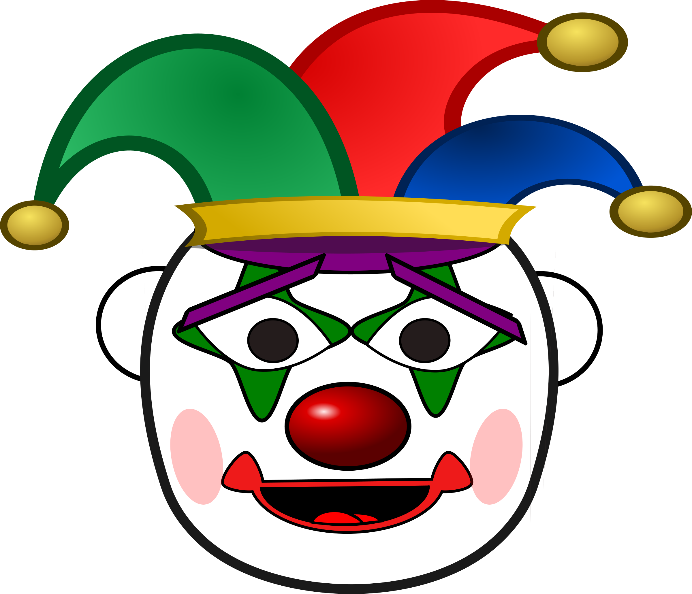 Big image png. Happy clipart clown
