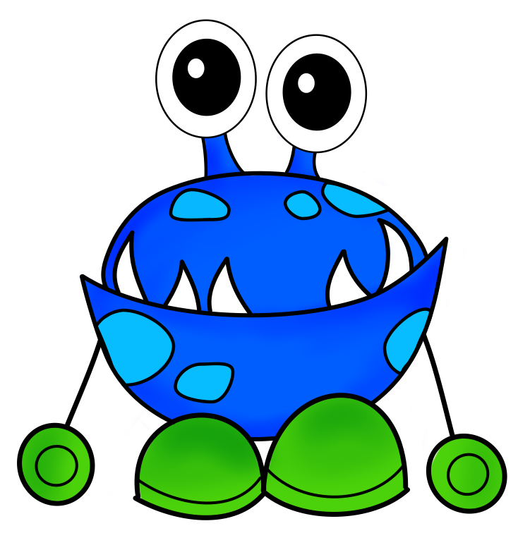 Cute monsters free download. Monster clipart lava monster