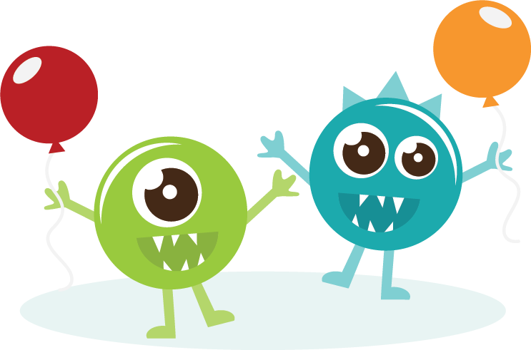 collection of happy. Monster clipart lava monster