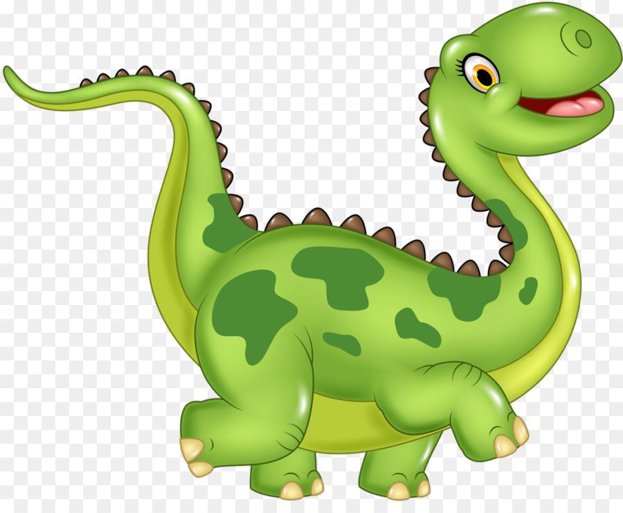 Dinosaurs clipart happy. Green grass background dinosaur