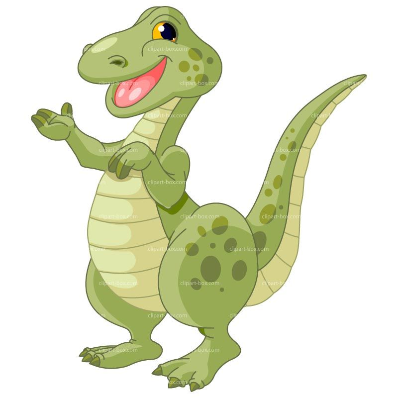 Dinosaurs clipart happy. Toddler homeschool projects cute