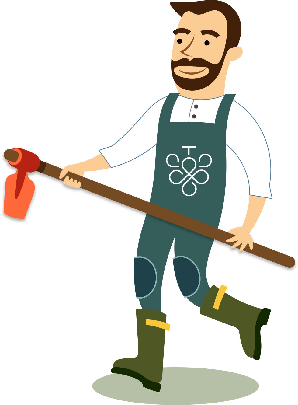 The organic prosecco and. People clipart farmer