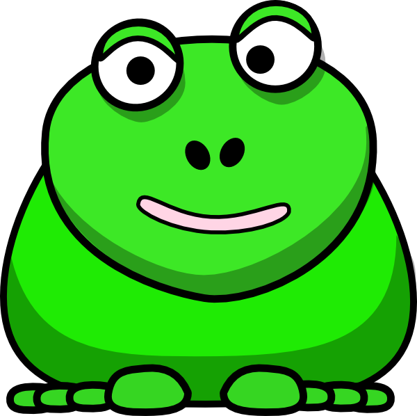 Happy frog clip art. Toad clipart frong