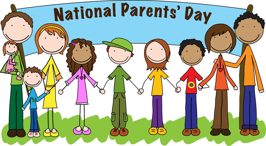 Parents day national a. President clipart happy