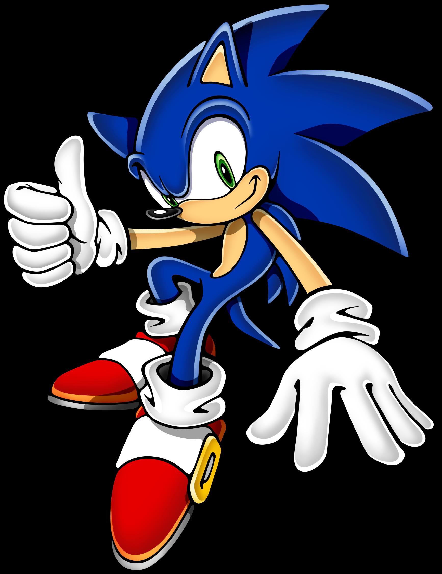 Sonic art assets dvd. Hedgehog clipart happy birthday