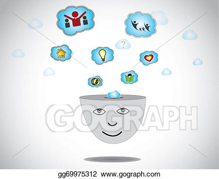 Dreaming clipart happy person. Human day about success