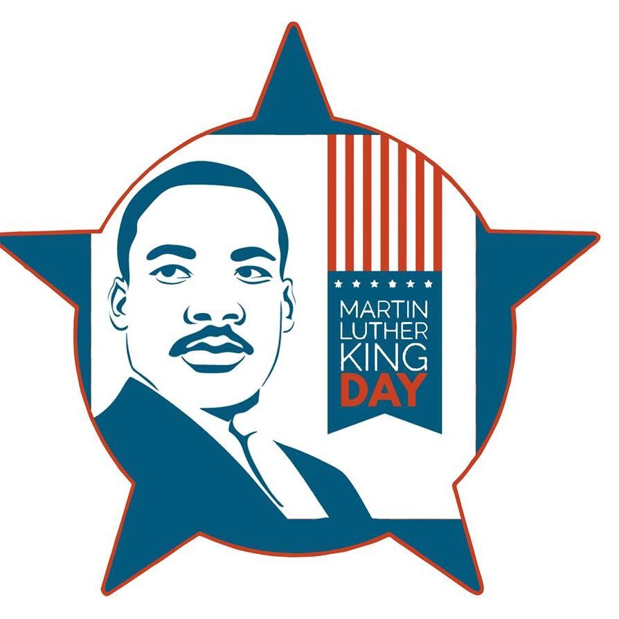 Mlk clipart happy. Martin luther king day