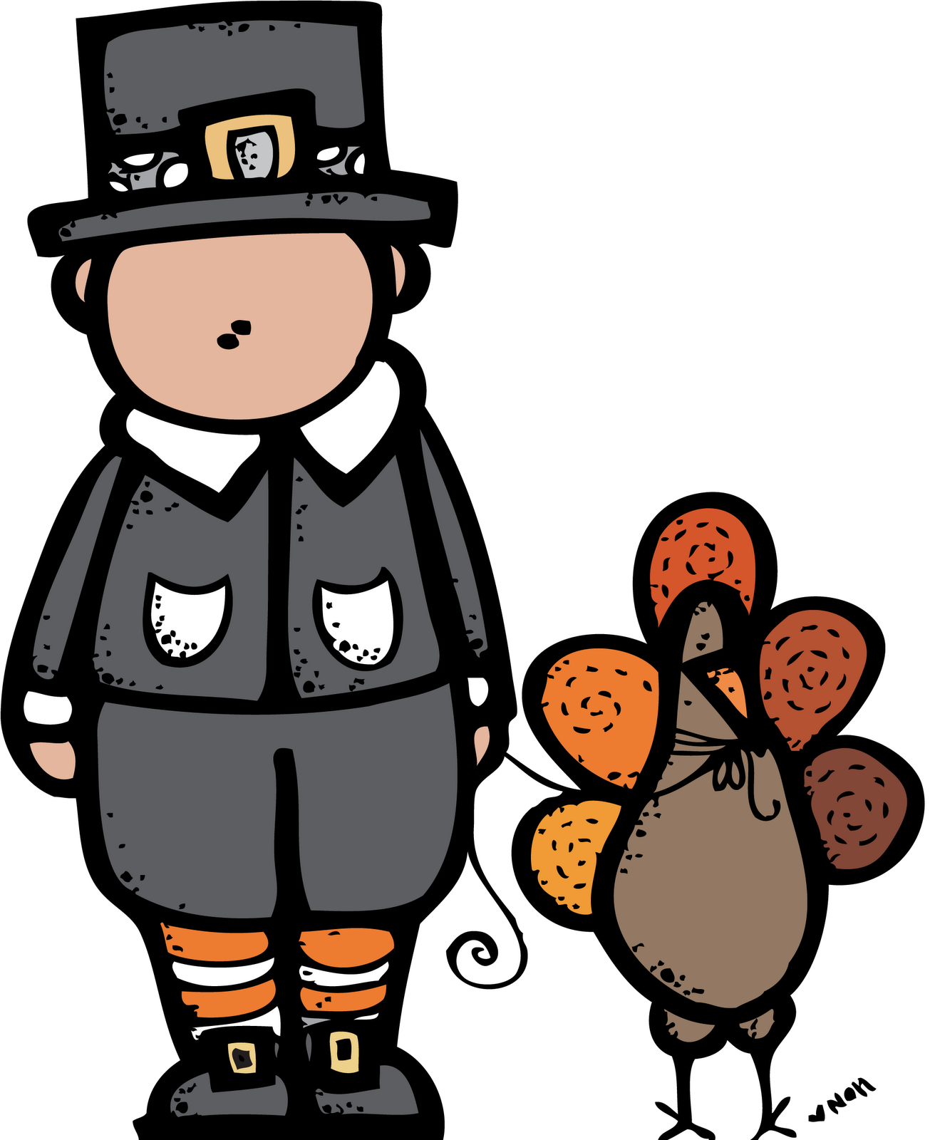 Clipart happy november. Melonheadz thanksgiving posted by