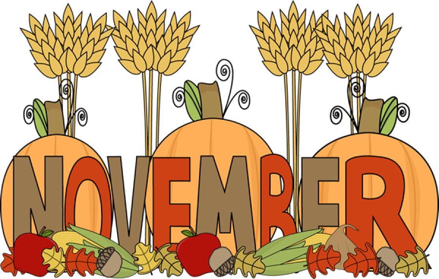 Clipart happy november. Church picture of the