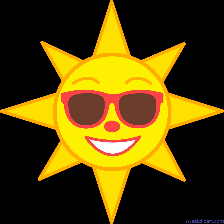 Hearts clipart sun. Happy clip art sweet