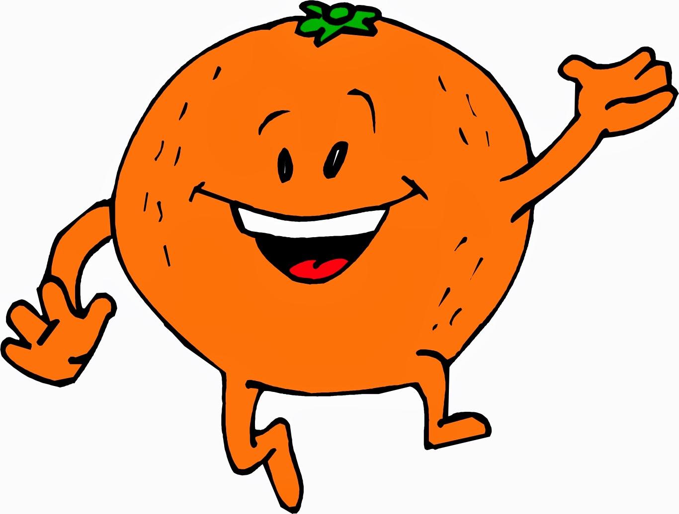Free cartoon download clip. Happy clipart orange