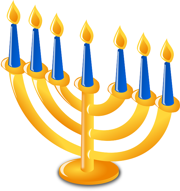 fireplace clipart hanukkah