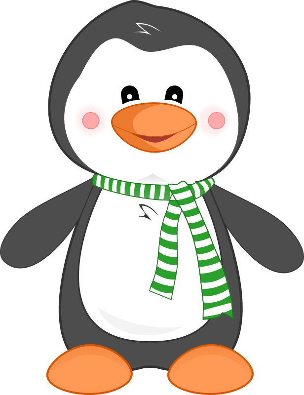 collection of penguin. Penguins clipart winter