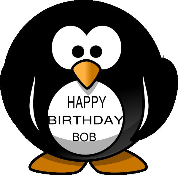Penguins happy birthday