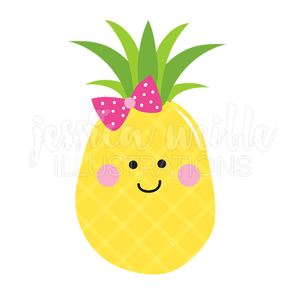 Pineapple clipart cute. Clipartxtras gclipart com