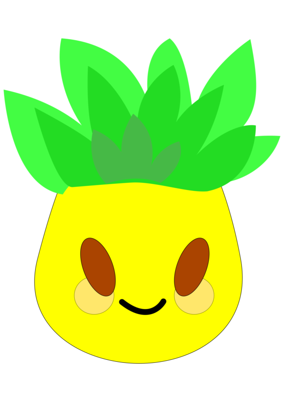images free download. Motorcycle clipart pineapple