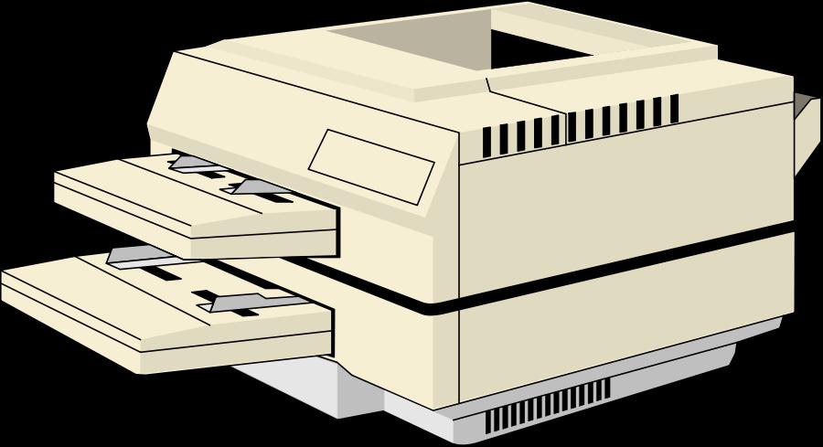 Office printer . Technology clipart clip art