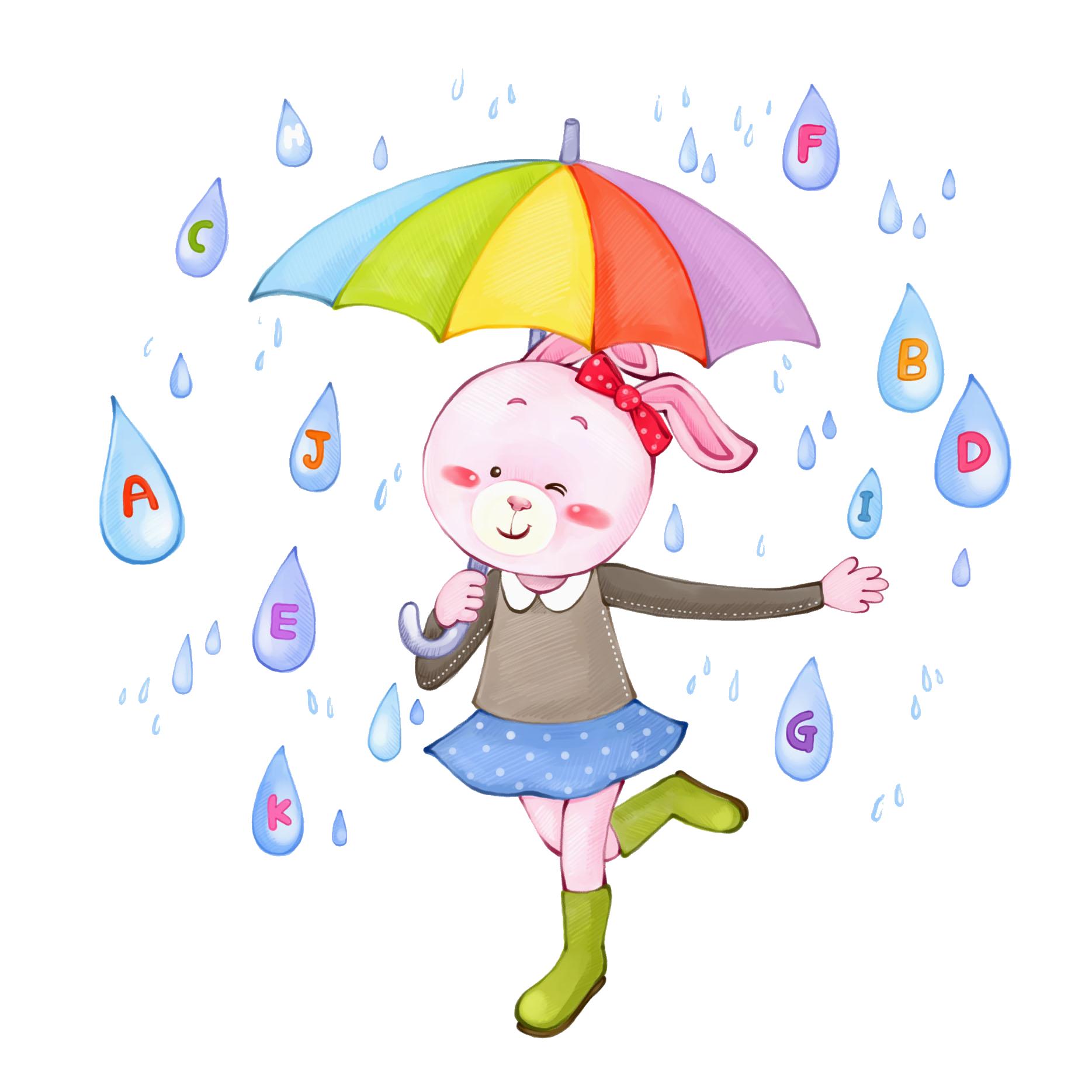 Umbrella clip art raindrops. Water clipart raindrop