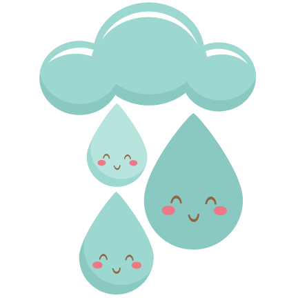 Pictures of raindrops free. Raindrop clipart happy