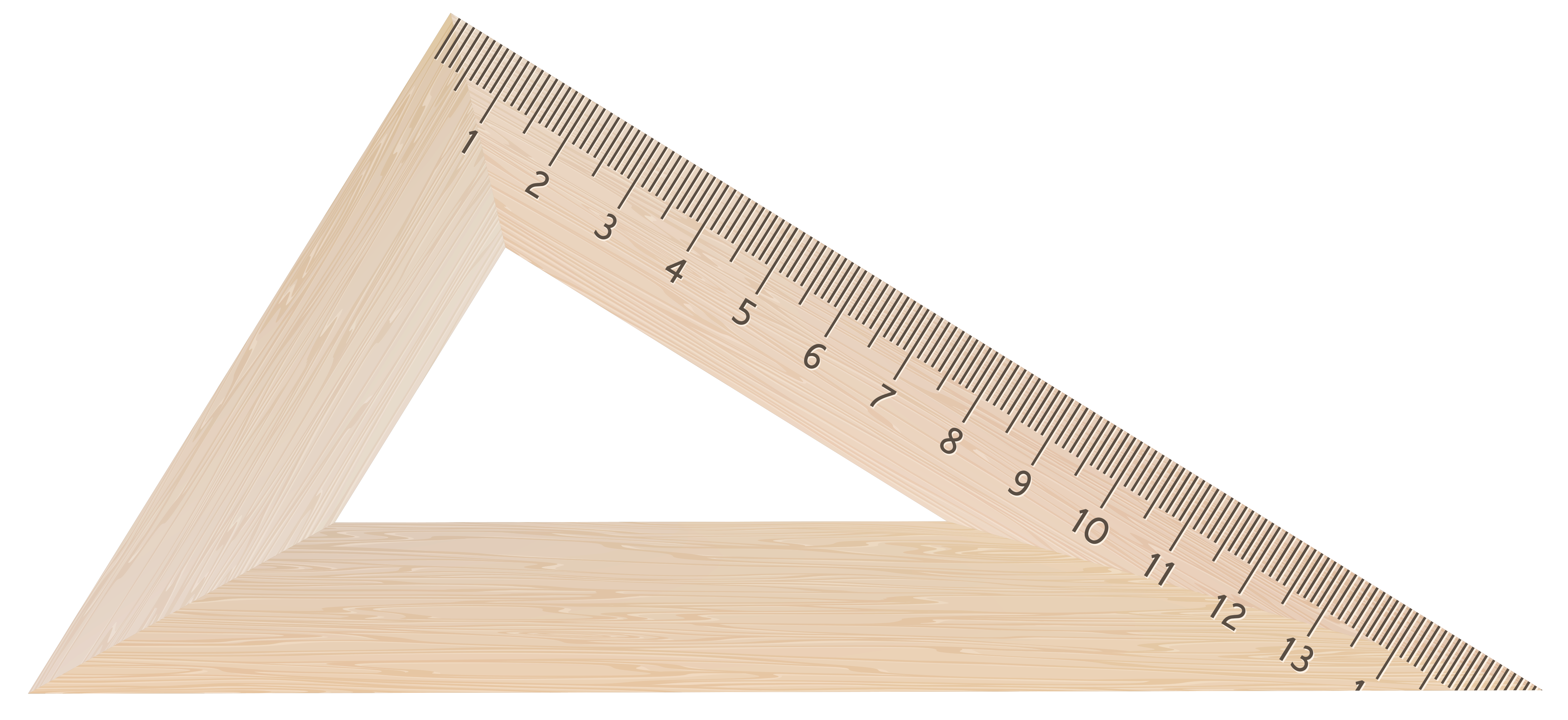 Clipart ruler rectangle. Wooden square png image