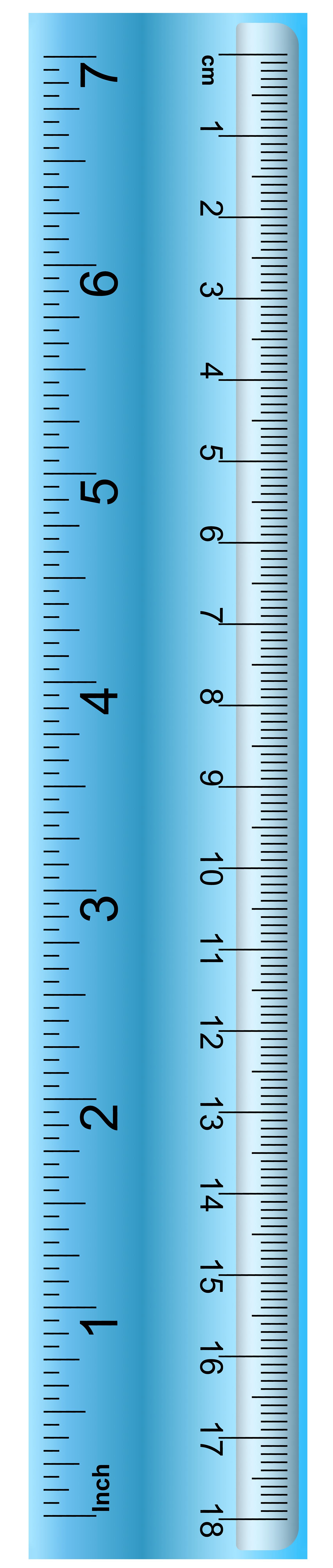 Clipart ruler blue. School png clip art