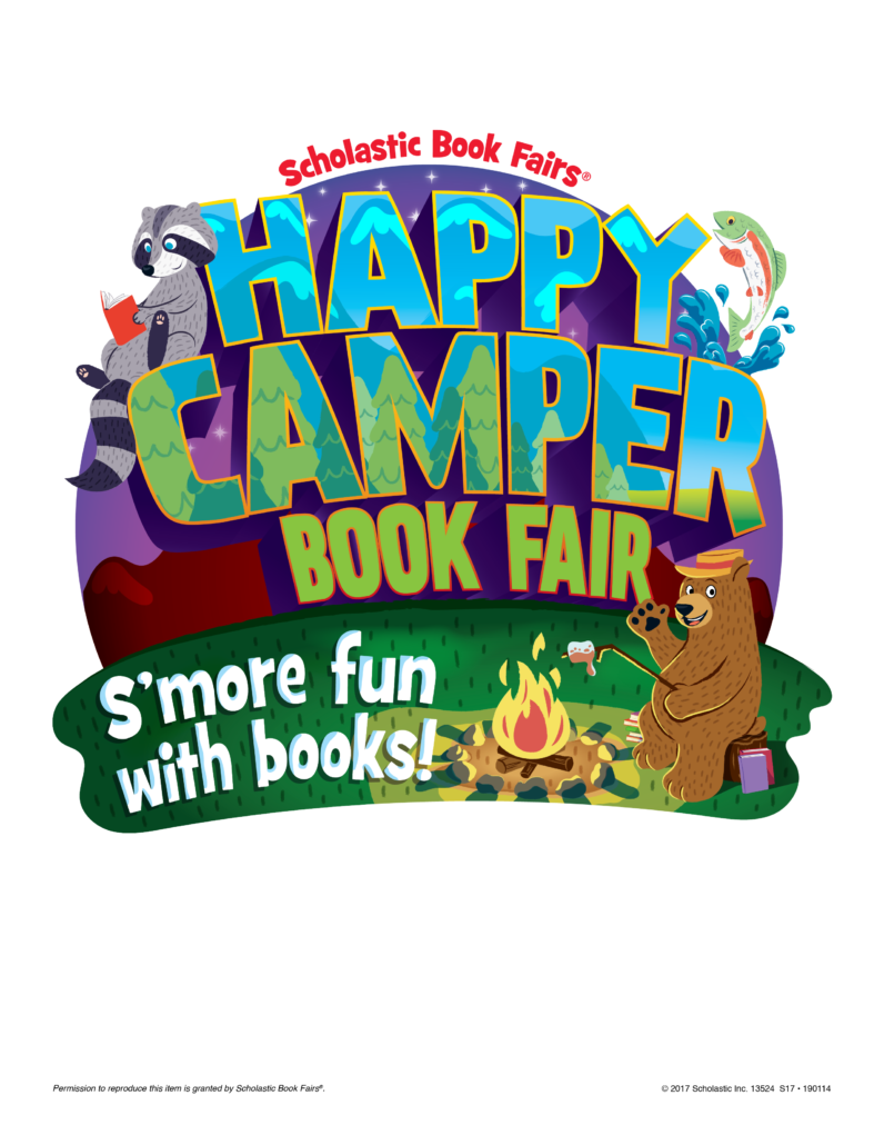 The book fair is. Smores clipart happy
