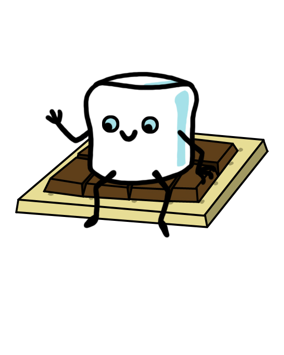 Smores clipart happy. Smore free download best