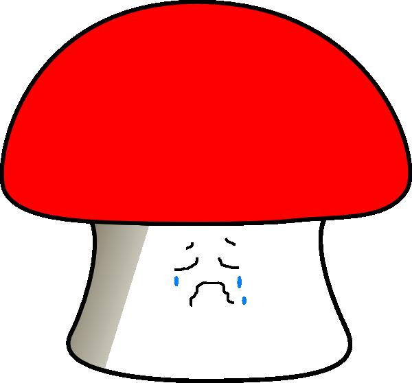 Mushrooms clipart sad. Mushroom clip art at