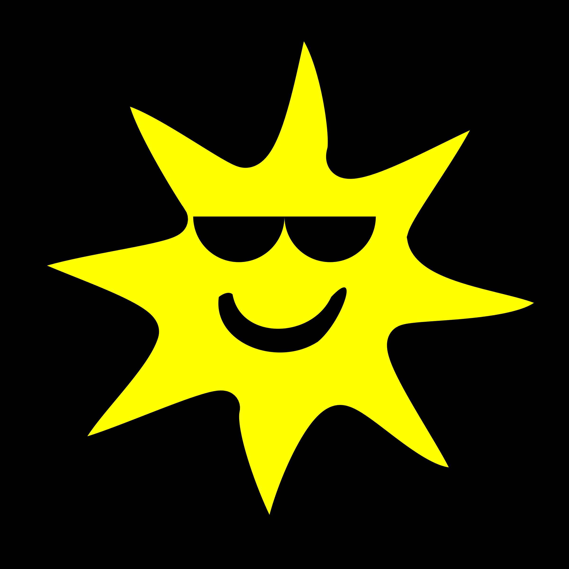 Big image png. Clipart sun happy