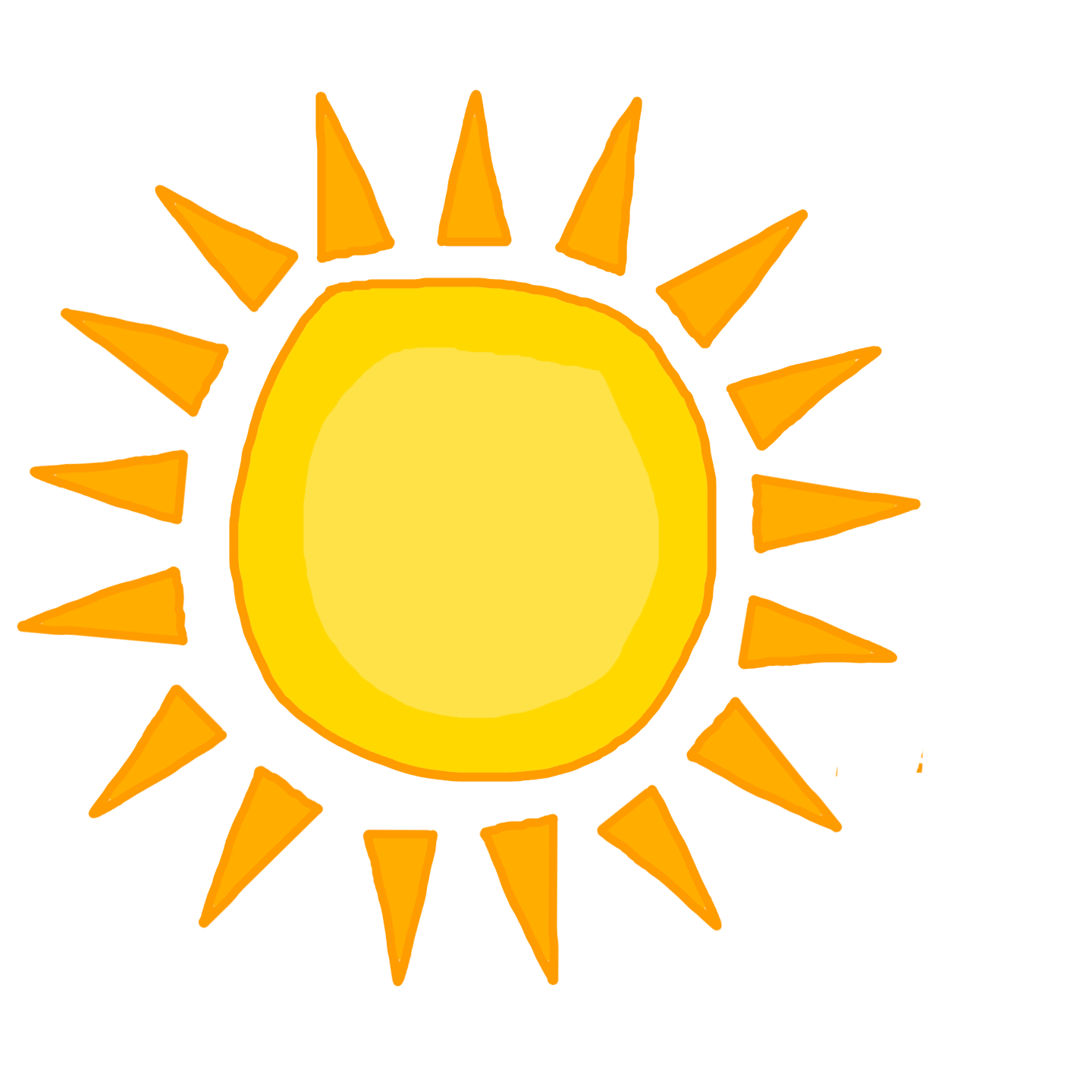 Sunny clipart background. Happy sun png no