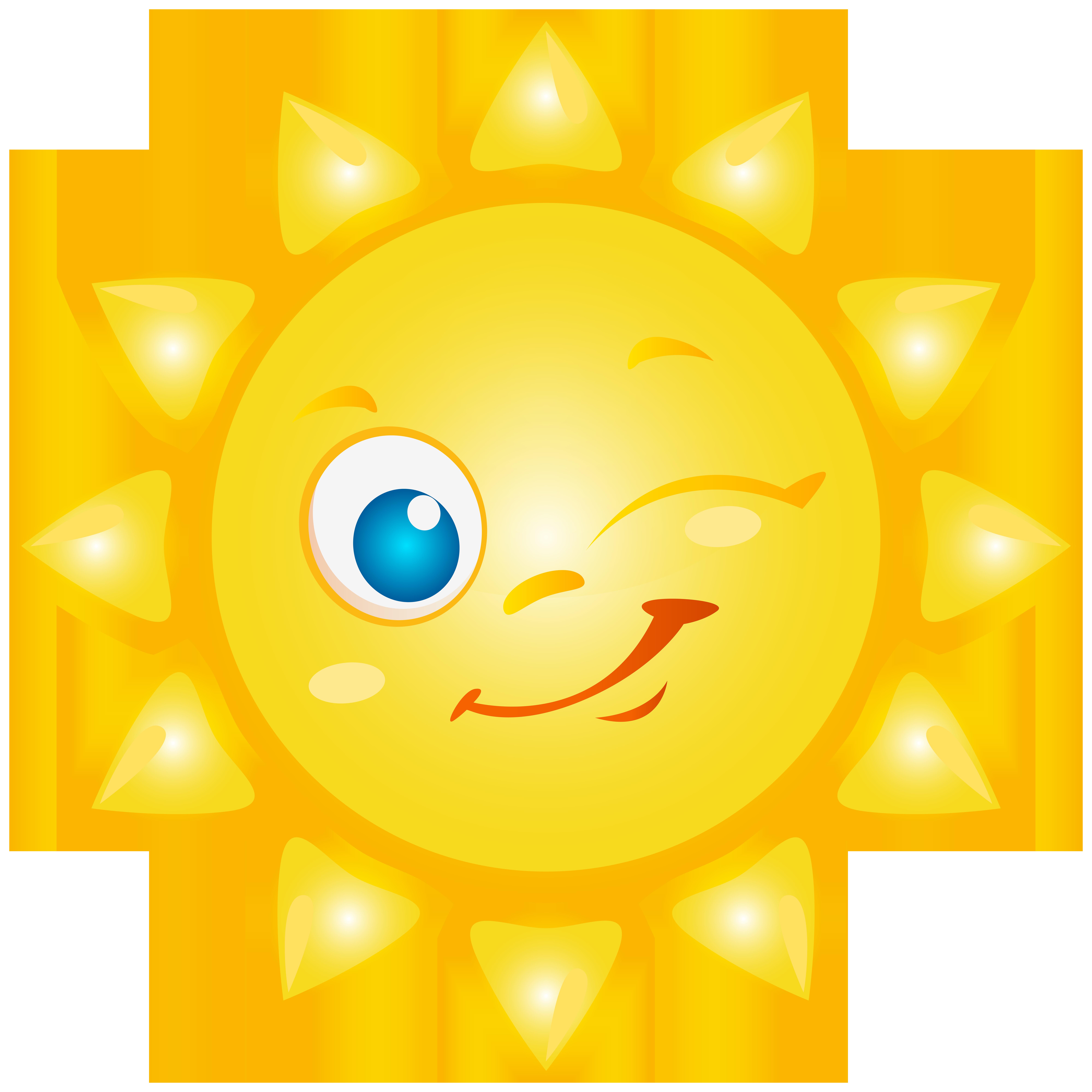 Clipart sun happy. Sunshine cartoon smile png