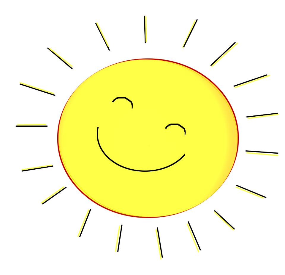 Free sunshine pictures download. Clipart sun happy