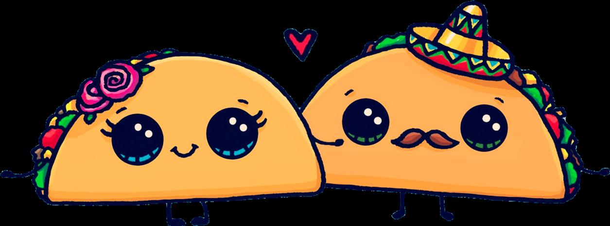tacos clipart cute