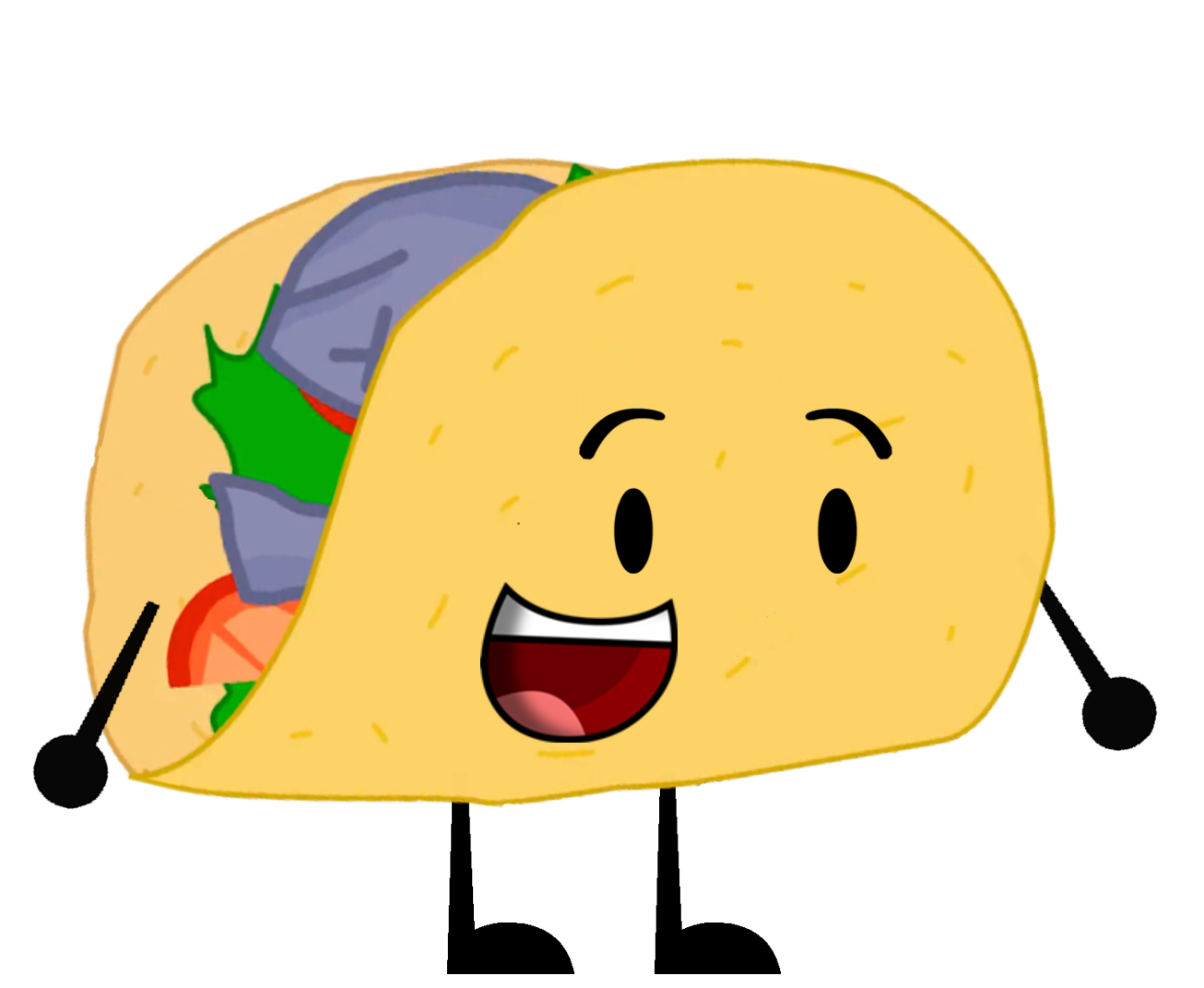 Taco happy. Clipart transparent free for